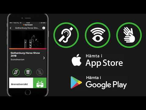 Got Event Tillgänglighet - App 15s