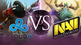 Dota 2: Na'Vi vs. Cloud9: Watch as One Fan-Favorite is Eliminated - TI4