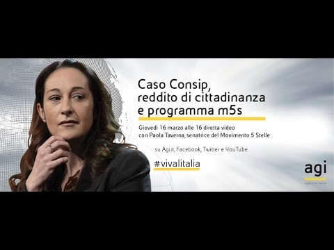 #vivalitalia con Paola Taverna