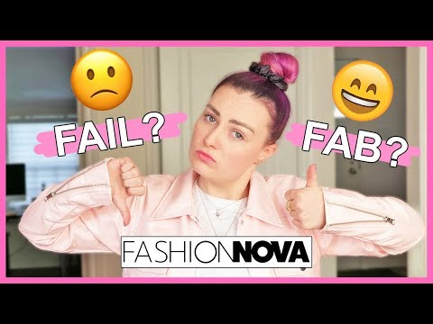 Video: I Tried to Online Shop at Fashion Nova Without Help! (as a blind girl)