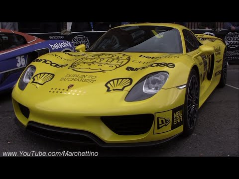 Gumball3000 2016 - Supercars Arrival at the Starting Grid