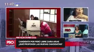 #PBO #MUJER ELECCIONES 2021 Candidata por Perú Libre Zaira Arias presenta sus PROPUESTAS ???? 91.9 FM