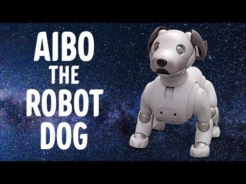 Robot hunden Aibo @ CES 2018