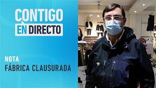 DORMÍAN EN LA FÁBRICA: Anuncian sumario por trabajadores en local de carteras - Contigo En Directo