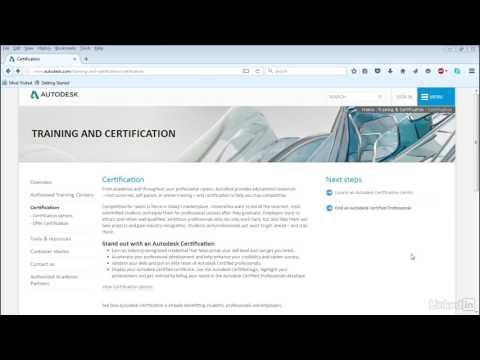 What is Autodesk certification? | Cert Prep: 3ds Max Certified Professional | LinkedIn Learning
