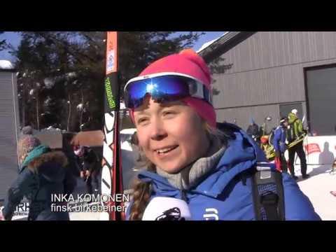 Birken skifestival 2018: Fornøyde deltakere i mål