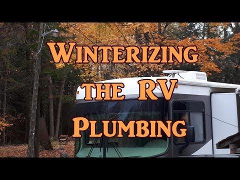 Winterizing The RV With Volfie
