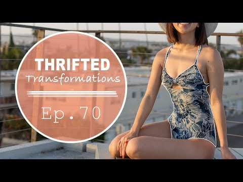 DIY Dress to Swimsuit | Thrifted Transformations Ep. 70