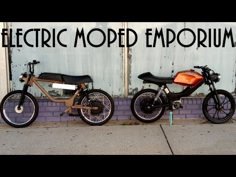 I'm Converting Old Mopeds into Ebikes