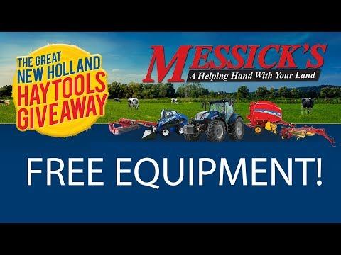Free Equipment! Great New Holland Hay Tools Giveaway Picture