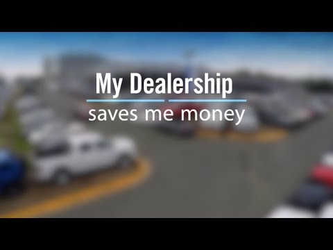 My Dealership saves me money.