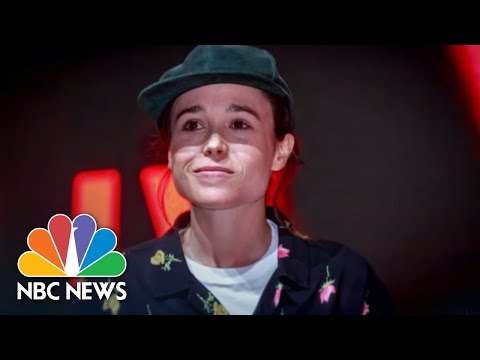 Outpouring Of Support After Actor Elliot Page Announces He's Transgender | NBC Nightly News