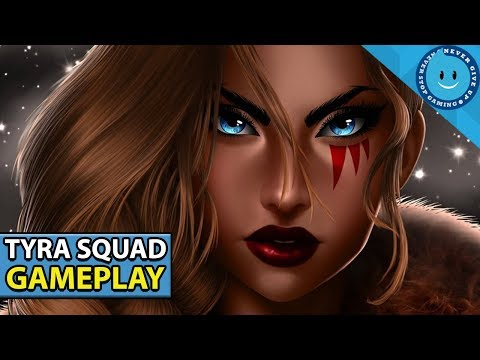 PALADINS BATTLEGROUNDS TYRA SQUAD GAMEPLAY! EPIC FINISH AND TEAMFIGHTS! (Alpha PTS)