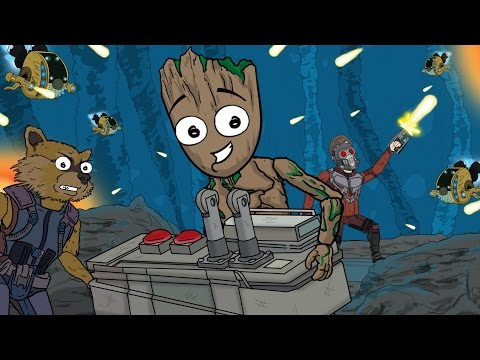 connectYoutube - Guardians of the Galaxy Vol. 2 Parody |