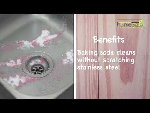 Homemade Kitchen Sink Cleaner  Easy Remedies - Homeveda