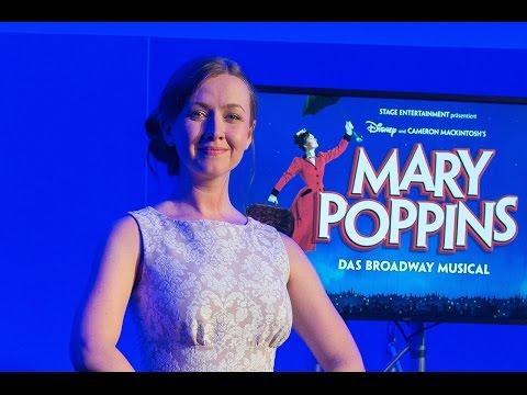 MARY POPPINS - Hauptdarstellerin Elisabeth Hübert vorgestellt