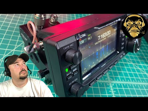 ICOM IC-705 Antenna Mount - TheSmokinApe