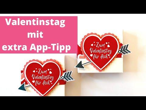 DIY-Valentinstag  mit super App-Tipp zum Schachtel bauen
