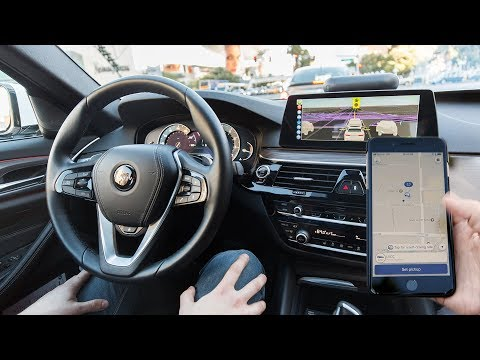 Riding in a self-driving Lyft