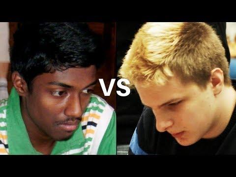 Geller's Chess Gambit! : Baskaran Adhiban vs Richard Rapport Reykjavik Open (2018) :  Slav Defense