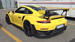 Porsche 991 GT2 RS Weissach Package – Start Up, Revs, Launch Control  Exhaust Sounds!