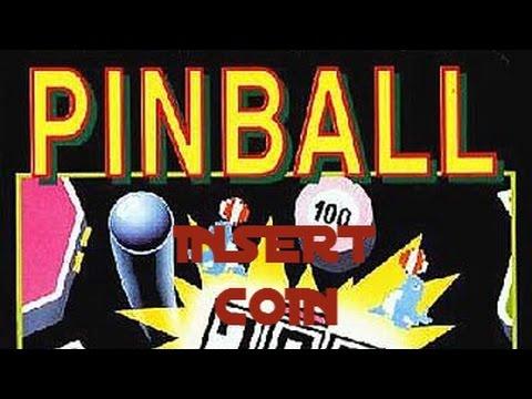 Pinball (1983) - NES - Partida comentada en español