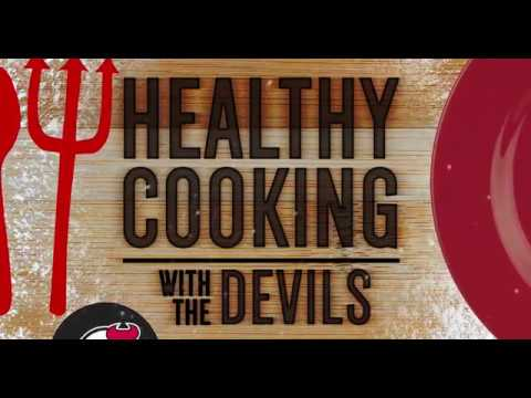Healthy Cooking with the Devils, Episode 1 featuring Travis Zajac