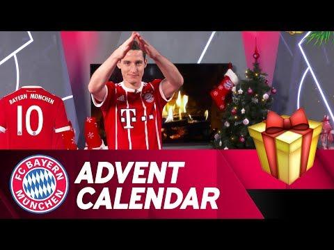 Pantomime w/ Sebastian Rudy | FC Bayern Xmas Advent Calendar #10