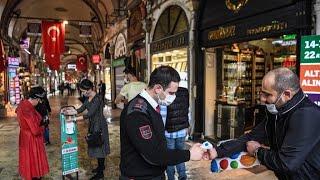 Dudas e incertidumbre en el Gran Bazar de Estambul
