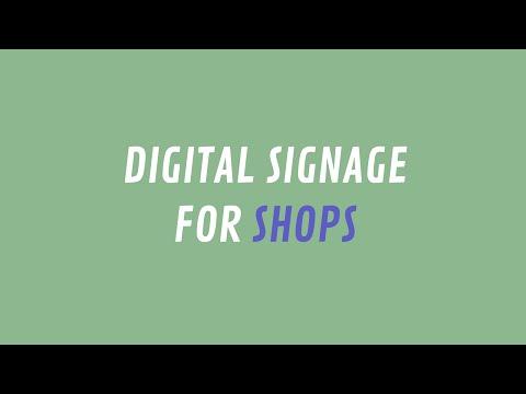 ScreenScape Digital Signage for Shops