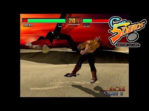 "VIRTUA FIGHTER 3 (JACKY) - ""CON 5 DUROS"" Episodio 805 (+Moonstone/MS-DOS) (1cc) (CTR)"