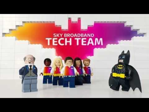 Sky Broadband & The Lego Batman Movie ad: Bat Fix