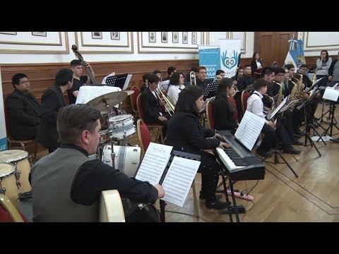 Las Big Band Jazz de Río Turbio y Río Gallegos deslumbraron en el Salón Blanco