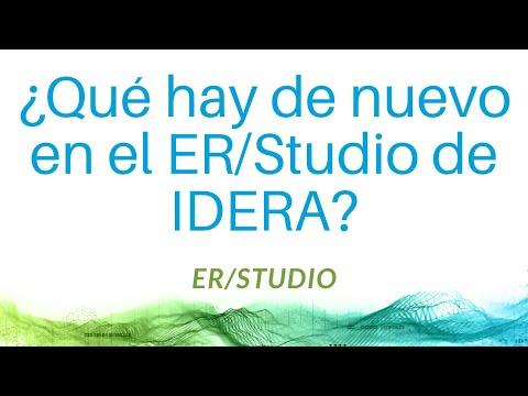 ¿Qué hay de nuevo en el ER/Studio de IDERA?