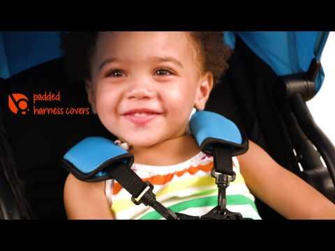 Blue Baby Trend TriFold Mini Demo