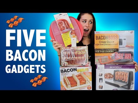 connectYoutube - TESTING 5 BACON GADGETS - DO THEY WORK??