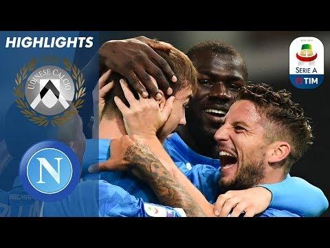 أهداف مباراة أودينيزي ونابولي 0-3 - البطولة الايطالية -