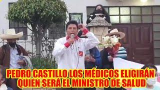 PEDRO CASTILLO CANDIDATO PRESIDENCIAL DE PERÚ LIBRE LOS MAESTROS ELIGIRÁN AL MINISTRO DE EDUCACIÓN