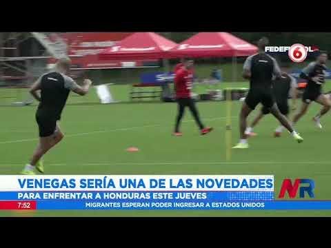 Fernando Suárez haría variantes en todas las líneas del partido frente a Honduras