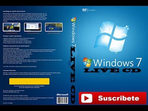 Live-cd Windows 7 скачать