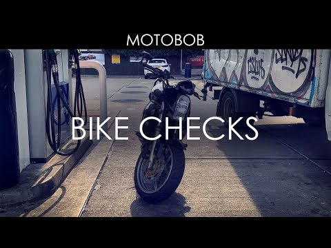 10 Checks Before A Long Motorcycle Ride Or Weekend Trip