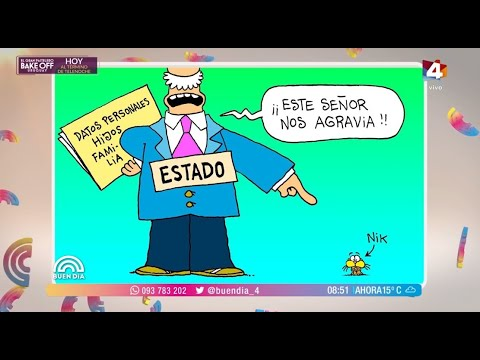 Buen Día - Cruce en Twitter entre autor de Gaturro y Ministro de Seguridad de Argentina