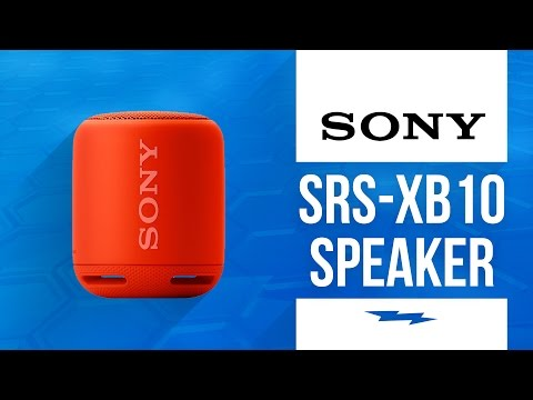 Sony SRS-XB10 Portable Bluetooth Speaker