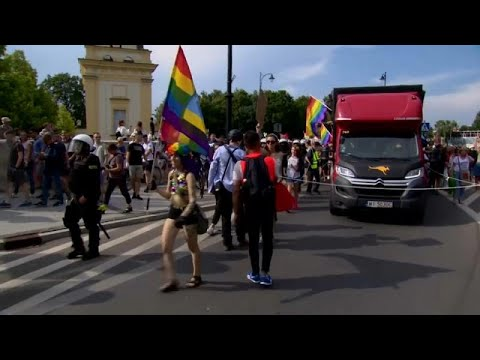 Pologne : une Gay Pride sous tension