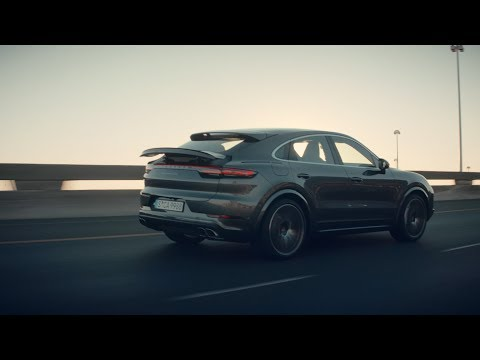 The new Porsche Cayenne Turbo Coupé - First Driving Footage