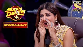 Shilpa Can't Stop Cheering For Awastha | Super Dancer Chapter 3 - SETINDIA