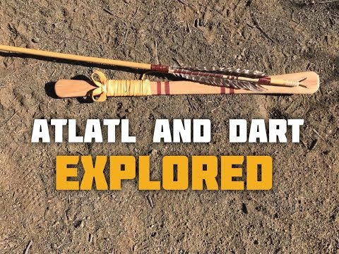 How to Thow an Atlatl Dart - Two Different Styles
