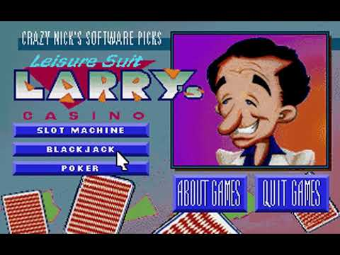 Crazy Nick's Software Picks: Leisure Suit Larry's Casino (Sierra On-Line) (MS-DOS) [1992]