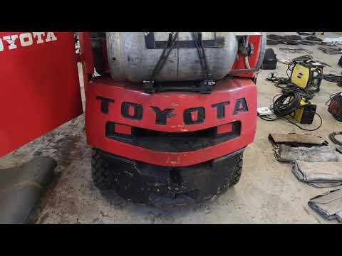 Motviktstruck Toyota 1,5 ton (bensin/gasol)
