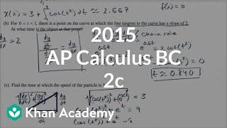2015 AP Calculus BC 2c